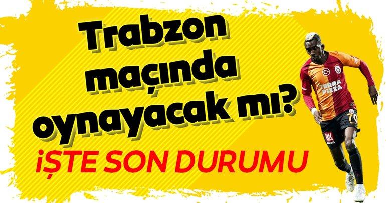 Onyekuru Trabzonspor maçında oynayacak mı? İşte son durum...