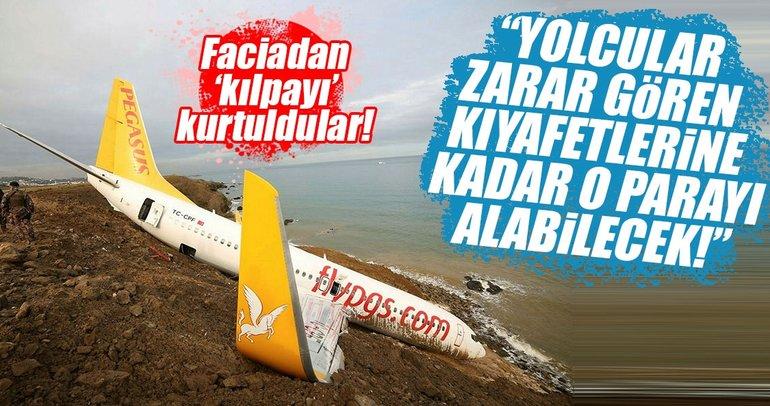 Pegasus uçağı faciadan döndü! İşte vatandaşın yasal hakları