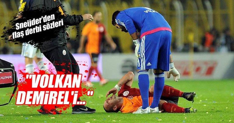 Sneijder'den flaş derbi sözleri