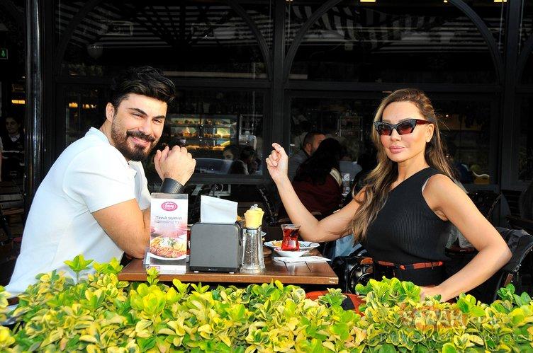 Zehra Çilingiroğlu sevgilisi Alaattin Kadayıfçıoğlu ile böyle görüntülendi!