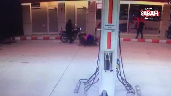 Kocaeli'de veresiye vermeyen market görevlisinin darp edilmesi kamerada | Video