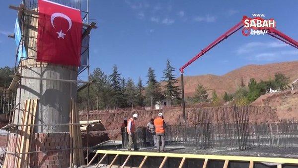 Aksaray'da Bedir Muhtar Cami ve Külliyesi'nin temeli dualarla atıldı | Video