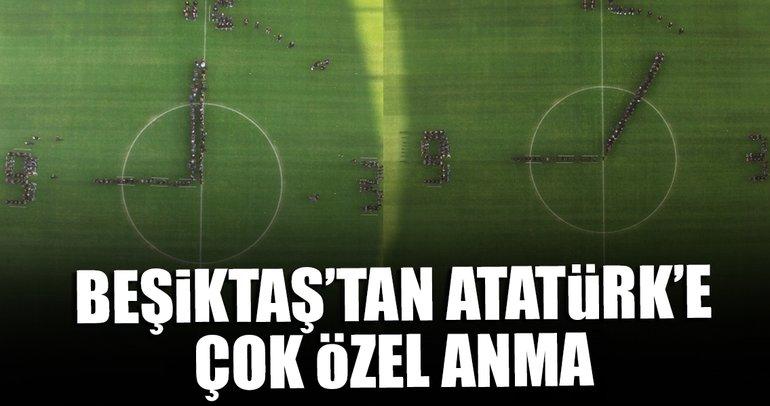 Beşiktaş'tan Atatürk için çok özel çalışma!