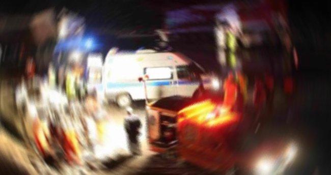 Kocaeli'de zincirleme trafik kazası: 2 yaralı