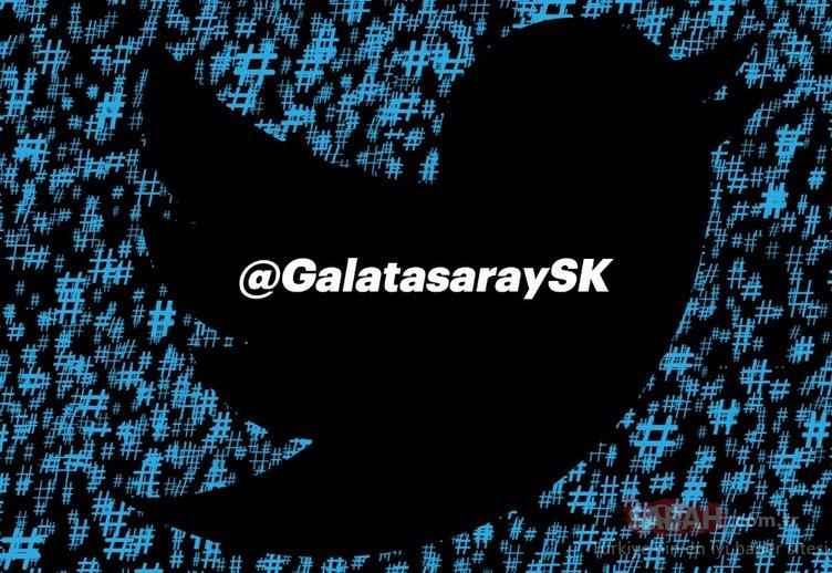 Twitter derbisi Galatasaray'ın! İşte etkileşim kralları...