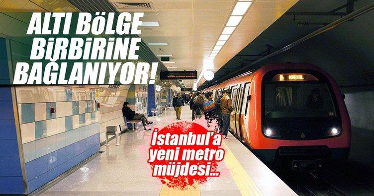 Yeni metro hattı günde 500 bin yolcu taşıyacak
