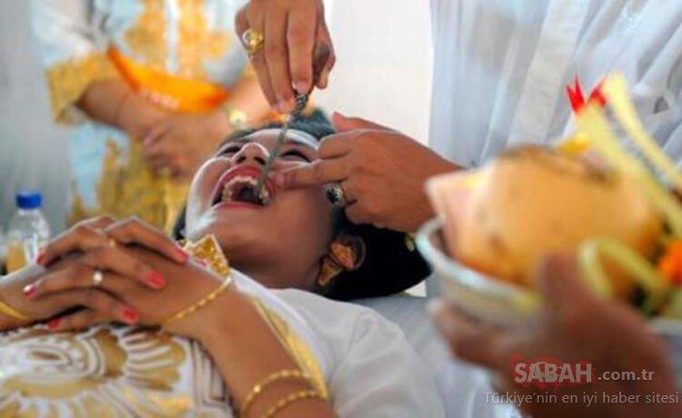 Düğünden önce bunu yapmazlarsa evlenemiyorlar! Bu kadarı olmaz dedirten ritüeller!