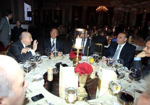 UEFA Kongresi gala yemeği yapıldı