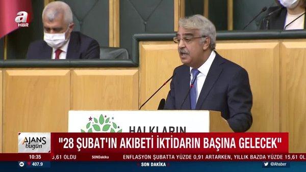 HDP'li Mithat Sancar'dan skandal '28 Şubat' tehdidi   Video