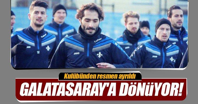 Hamit Altıntop Galatasaray'a dönüyor