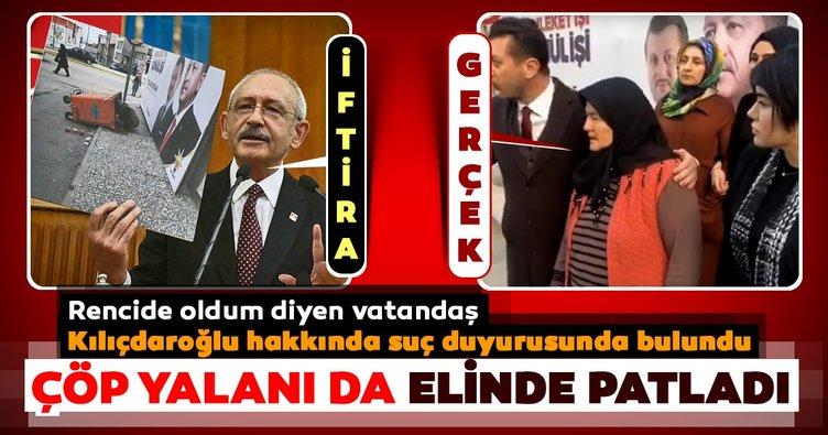 Kılıçdaroğlu'nun bir yalanı daha çöp oldu