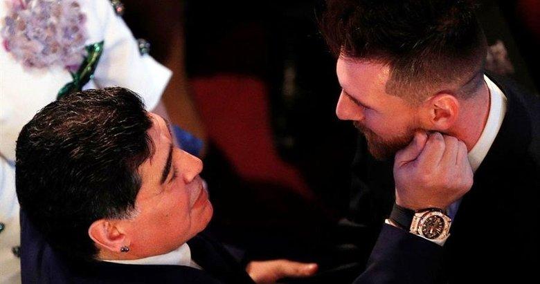 Maradona: Messi'yle konuşup suçu olmadığını söyleyeceğim