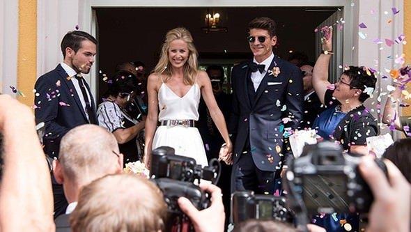 Ünlü futbolcu Mario Gomez evlendi!