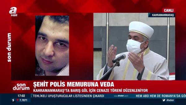 Şehit Polis Barış Göl dualarla memleketi Osmaniye'ye uğurlandı | Video