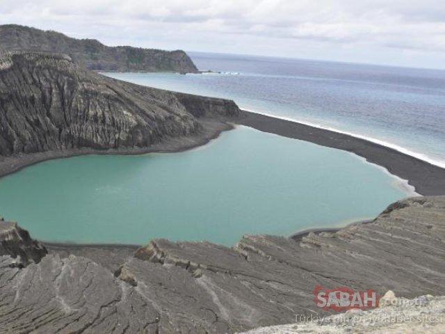 Dünyanın en yeni adasında heyecanlandıran gelişme!
