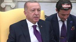 Cumhurbaşkanı Erdoğan'dan Beyaz Saray'da ABD'li senatöre ders gibi cevap!