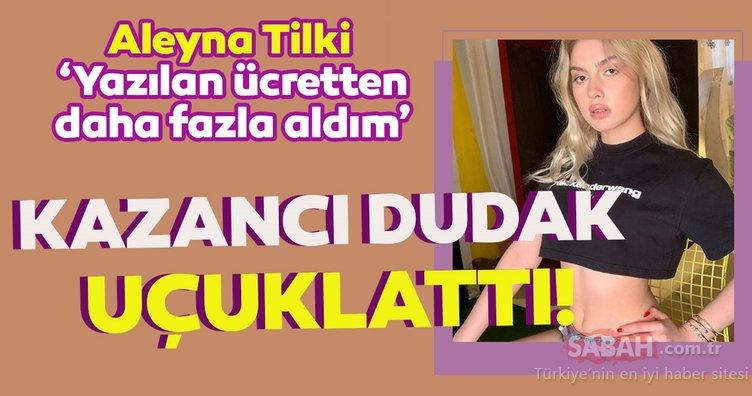 Aleyna Tilki rol aldığı dondurma reklamından bakın kaç para kazandı! Kazancı dudak uçuklattı!