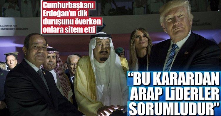 Mısır Devrim Konseyi Başkanı Azzam: Trump'ın kararından Arap liderler sorumlu