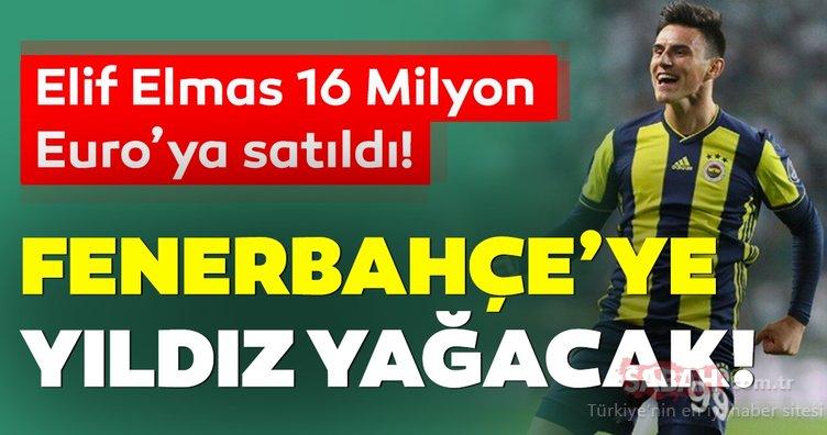 Son dakika Fenerbahçe transfer haberleri! Elif Elmas gidiyor Fenerbahçe'ye yıldız yağacak!