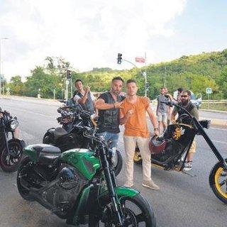 'Cehennem Melekleri'nin motorsikletleri bu filmde