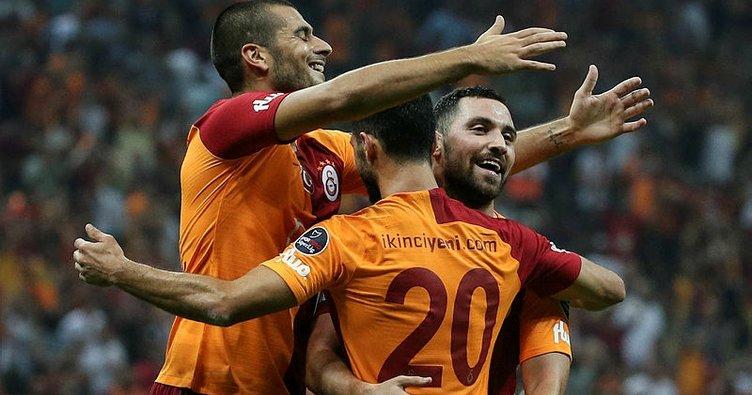 Galatasaray'dan 6 gollü resital