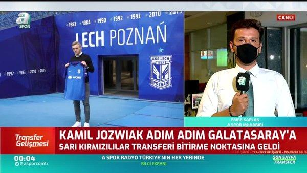 Galatasaray'dan çifte transfer! Lech Poznan'dan Jakub Moder ve Kamil Jozwiak