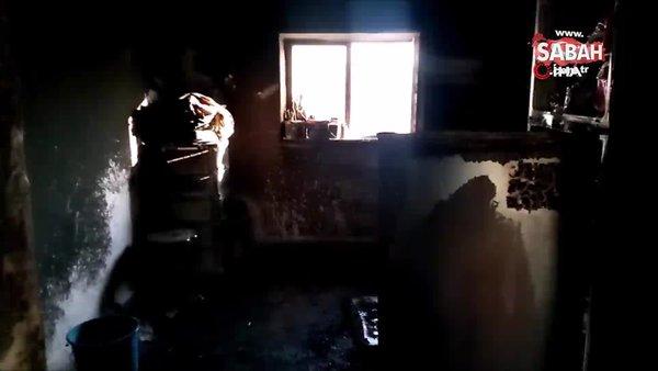 Sobayı benzinle tutuşturmak isteyince ev yandı: 6 yaralı | Video