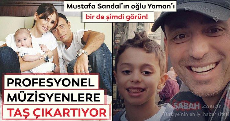 Mustafa Sandal'ın oğlu Yaman'ı bir de şimdi görün!