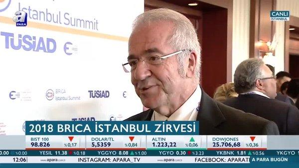 TÜSİAD Başkanı Bilecik'ten A Para'ya özel açıklamalar!