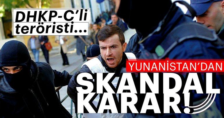 Son Dakika: Yunanistan'dan skandal DHKP-C kararı