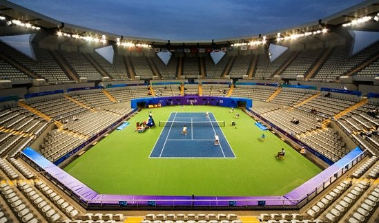 Türkiye'nin ilk tenis kortu