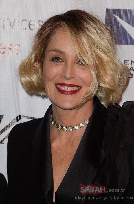 Bir dönemin en güzel kadınlarından Sharon Stone görüntüsüyle şaşırttı! Yıllar Sharon Stone'a da acımadı...