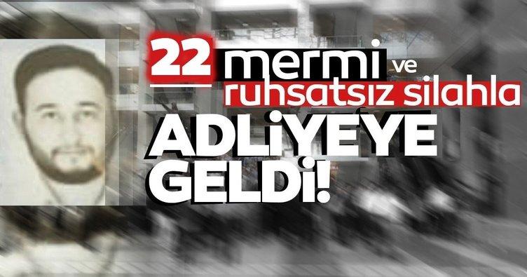 İstanbul Adliyesi'nde garip olay: 22 mermi ve ruhsatsız silahla adliyeye girmeye çalıştı