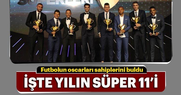 Futbolun Süperleri ödülleri sahiplerini buldu, işte kazananlar