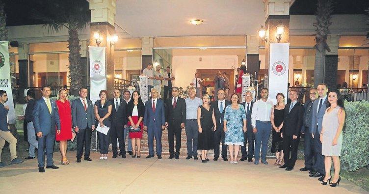 Adli Yıl açılış resepsiyonu Baro tesislerinde yapıldı