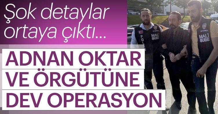 Son Dakika Haberi: Adnan Oktar ve örgütüne dev operasyon! Adnan Hoca ve kedicikleri gözaltında