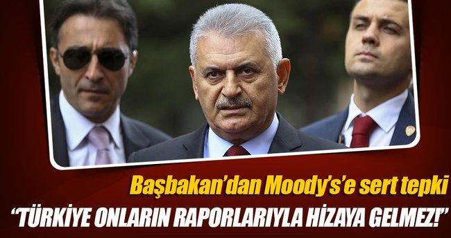 Başbakan Yıldırım'dan Moody's açıklaması