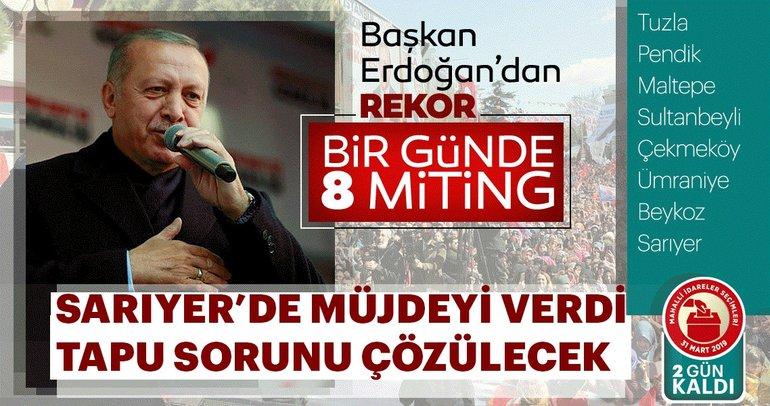 Başkan Erdoğan: Darbecilere kadeh kaldıran şerefsizler bu ülkeye hizmet edemez!