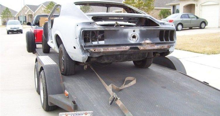 Hurdalığa terk edilen Mustang'in muhteşem değişimi