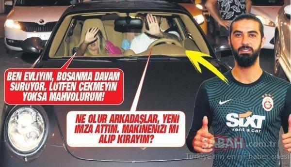 Galatasaraylı Fatih Öztürk'ten önce rica sonra tehdit! Bu fotoğraf çıkarsa ben biterim