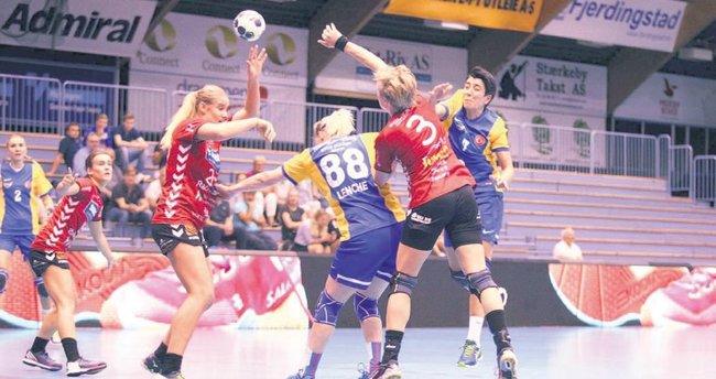 Yenimahalleli kızlar rotayı EHF'ye çevirdi