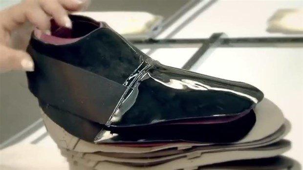 Ayakkabı böyle yapılıyor