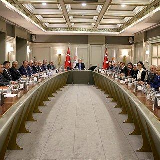 AK Parti MYK toplantısı sona erdi.