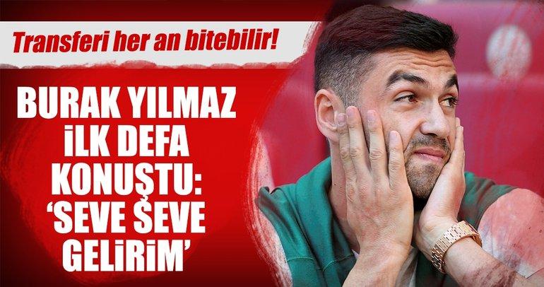 Burak Yılmaz adım adım Trabzonspor'a...