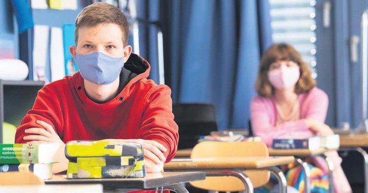 Bavyera'da 10 gün maskeli eğitim