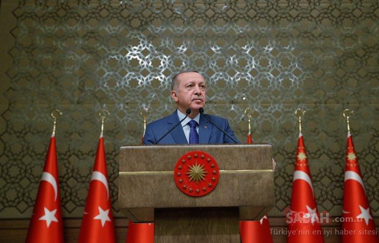 Başkan Erdoğan'dan Külliye'de çocuklara sevgi gösterisi