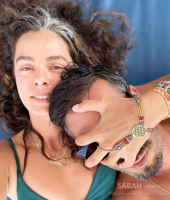Güzel oyuncu Özge Özpirinçci'den aşk kokan paylaşım! Özge Özpirinçci oyuncu sevgilisi Burak Yamantürk ile tatilde...