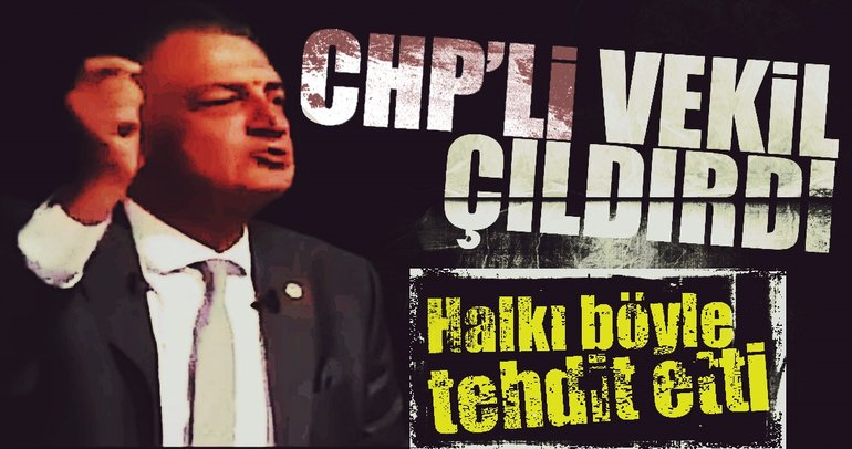 CHP'li vekilden 'evet' diyenlere tehdit