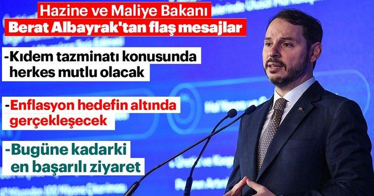 Bakan Albayrak'tan flaş kıdem tazminatı açıklaması!