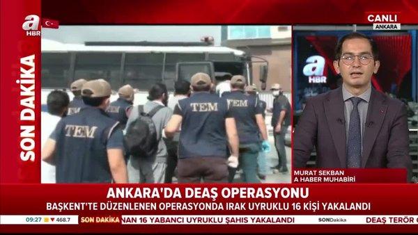 Son dakika: Ankara'da büyük DEAŞ operasyonu: 16 kişi yakalandı   Video